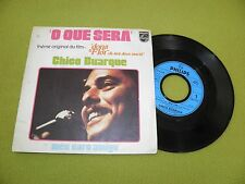 """Chico Buarque - O Que Sera (Dona Flor Theme) / Meu Caro Amigo - RARE 7"""" EX Samba"""