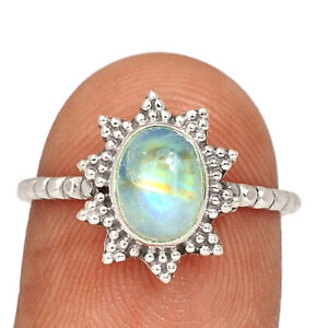 Copper Purple Turquoise - Arizona 925 Sterling Silver Ring Jewelry s.7.5 BR90710