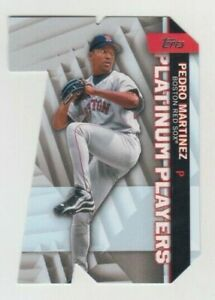 Pedro Martinez 2021 TOPPS SERIES 1 PLATINUM PLAYERS DIE CUT #PDC-4 RED SOX