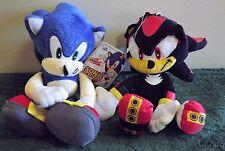 "Sonic the Hedgehog & Shadow The Hedgehog Plush 8"" Combo."