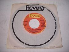 PROMO w SLEEVE David T. Walker Watch Out, Dynamite 1970 45rpm VG+