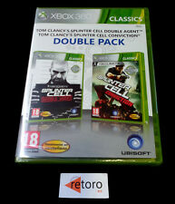 SPLINTER CELL DOUBLE AGENT + CONVICTION Xbox 360 PAL-España Español NEW xbox360