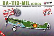 "Lhm006/Lift here Models-hispano aviacion ha-1112-m1l ""Buchon"" - resin - 1/72"