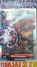 Digimon Card Game BlitzGreymon BT3-018 SR