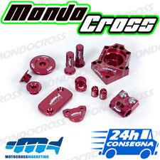 kit particolari in ergal rosso MOTOCROSSMARKETING HONDA CRF 450 R 2004 (04)!