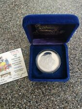 "1987  Disney.999 1 oz.Fine Silver Coin / Round "" The Witch"" Snow White Series"