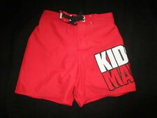 Boys Mambo red  board shorts   Size 2