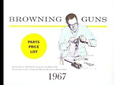 Browning 1967 Shotguns, Rifles and Pistols Exploded View PARTS Catalog