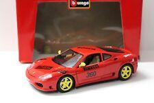 """1:18 Bburago Ferrari 360 Modena Coupe """"BOSCH"""" red NEW bei PREMIUM-MODELCARS"""