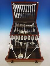 Williamsburg Shell by Stieff Sterling Silver Flatware Service 12 Dinner Set