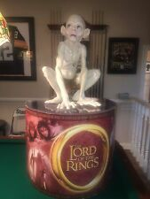 Lord of the Rings Life Size Talking Gollum Smeagol Statue - Theater Lobby Promo