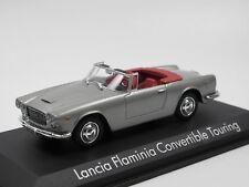 Lancia Flaminia Convertible Touring 1961 Silver 1 43 Model NOREV