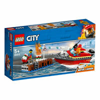 60213 LEGO CITY Dock Side Fire 97 Pieces Age 5+