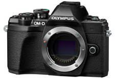 Olympus OM-D E-M10 Mark III 16.1MP Spiegellose Systemkamera - Schwarz (Nur Gehäuse)