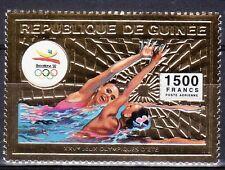 GUINEA REPUBLICA 1992 A-265 NATACION SINCRONIZADA FEMENINA. ORO 1v. B-92 III