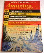 Amazing Stories – US digest – December 1967 - Vol.41 No.5 - Herbert, Bradbury