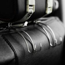 Car Seat Front Back Headrest Hooks Coat Purse Hanger Bag Holder Organizer Hooks