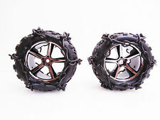 RC Tire Chain Fits Traxxas E-Revo 1/16 Scale Talon Tires ONNEX Snow Chains