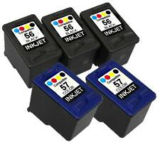 5PK  FOR HP 56 57(C6656AN,C6657AN) 2C 3K PSC 2410V 2410XI 2510 2510XI 6656 6657