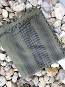 PLO Halstuch Schal Palästinenser Shemagh Oliv Schwarz Camo Scarf Army Black OD