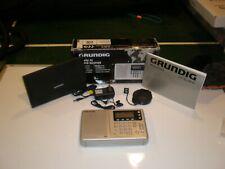 Grundig YB 400PE  Radio FM/MW/LW/SW w case ear phones ac adapter antennae etc