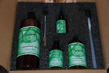 New WEN by Chaz Dean 4PC Cucumber Aloe Cleanse Treat Style Protect Set