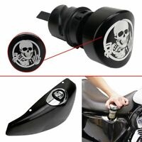 Skull Oil Dipstick Plug Filler Cover For 04-16 Harley Sportster 48 XL883 1200