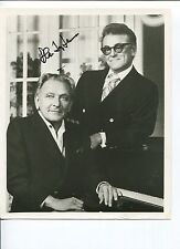 Alan Jay Lerner My Fair Lady Lyricist Librettist Signed Autograph Photo
