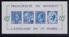 Monaco 1985,  Block 31 B xx, geschnitten, postfrisch