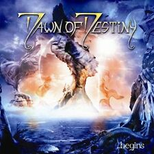 DAWN OF DESTINY - ...begins CD 2007 Female Fronted Melodic  Epic Power Metal