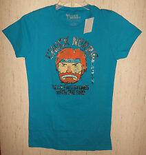 Nwt Womens / Juniors Chick Norris Kills Two Stones W/ One Bird T-shirt Size Xl