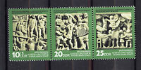 ALEMANIA/RDA EAST GERMANY 1974 MNH SC.1589/91 Natl.stamp exhib.