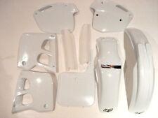 Honda CR125 1991-1992 Plástico Kit 3 Motocross BLANCO UFO