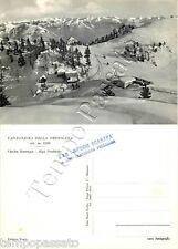 Cartolina di Cantoniera della Presolana (Colere), rifugio - Bergamo