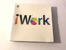 Apple Iwork 09 Retail DVD Case + Instructions (Mac)