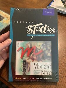 NEW Sealed 'Monarch Notes- Literary Classics' Software CD Windows 3.1 DOS