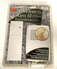 Heath Zenith SL-6157-C White Plug-In Door Wireless Chime Doorbell Extender NEW