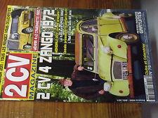 7µ?§ Revue 2CV Magazine n°79 Pipe admission 1952 Plaquette frein Mehari 4X4