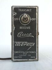 Vintage Phone Patch by Tesco Continental Electronics & Sound Comp Bell WE
