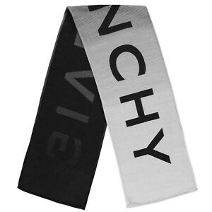 Givenchy mens homme scarf degraded new wot tags 100% authentic £285 rrp