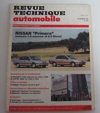 Revue technique automobile RTA 545 Nissan primera mot 1.6 essence & 2.0 diesel