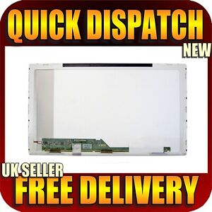 "New Laptop Screen for MEDION ERAZER X6815 15.6"" LED WXGA HD GLOSSY FINISH UK"