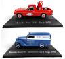 Sammlung von 2 Mercedes Benz- 1:43 SALVAT Autos Diecast Miniatur Modellauto SAL2