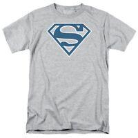 Superman Blue & White Shield T-Shirt DC Comics Sizes S-3X NEW