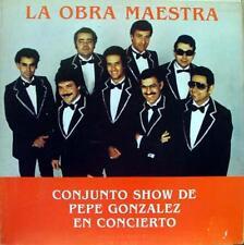 Conjunto Pepe Gonzalez En Concierto - La Orba Maestra LP Mint- PLN 001 Vinyl