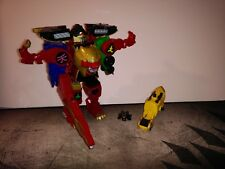 Power Rangers Super Megaforce Legendary Samurai Megazord and Wildforce Red Lion