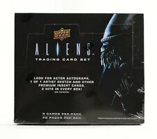 Aliens Trading Cards Hobby Box (Upper Deck 2018) ALIEN MOVIE TRADING CARDS BOX