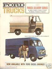Truck Brochure - Ford - P-100 et al - Parcel Delivery Series - 1963 (T1437)