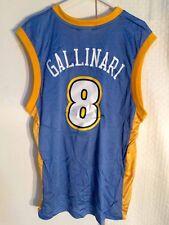 Adidas NBA Jersey Denver Nuggets Gallinari Light Blue Alt sz M