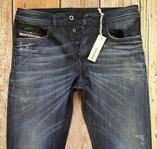 """NEW Diesel Jeans BUSTER in Blue W32"""" x L34"""" Regular Slim-Tapered Made in ITALY"""